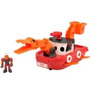 Educational Insights Dino Construction Company™ Rescue Crew Blaze the Plesiosaurus Fireboat (4163)