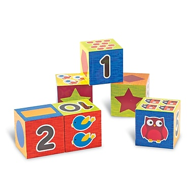 Learning Resources® Learning Essentials Numbers & Shapes Puzzle Blocks (LER7721)