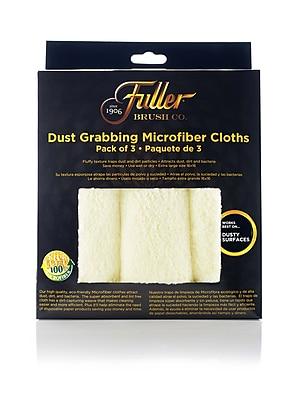 Dust Grabbing Microfiber Cloths, Yellow