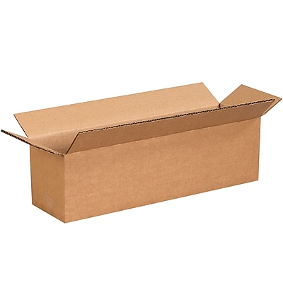 13''x3''x3'' Standard Corrugated Shipping Box, 200#/ECT, 25/Bundle (1333)
