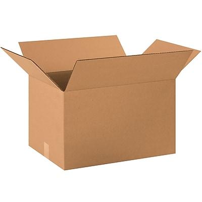 22''x16''x14'' Standard Corrugated Shipping Box, 200#/ECT, 20/Bundle (221614)