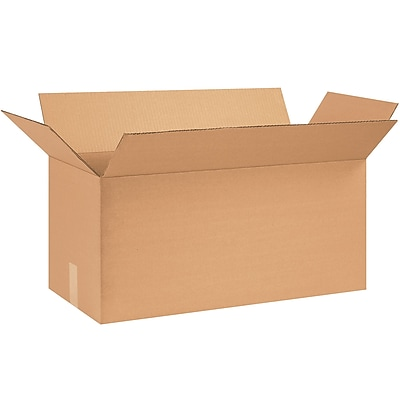24''x10''x12'' Standard Corrugated Shipping Box, 200#/ECT, 25/Bundle (241012)
