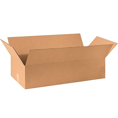 36''x20''x12'' Standard Corrugated Shipping Box, 200#/ECT, 15/Bundle (362012)