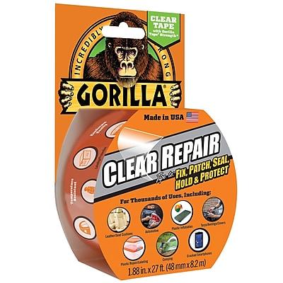 "Gorilla Repair, 2"" x 27', Clear, 1/Roll (6027003)"