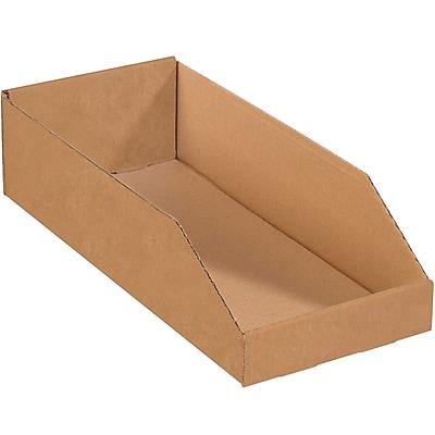 Partners Brand Open Top Bin Boxes, 8