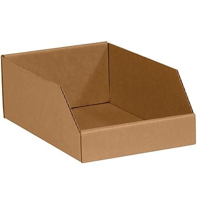 Partners Brand Open Top Bin Boxes, 10