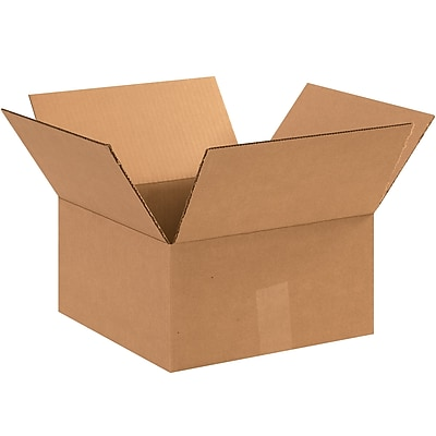 12''x12''x8'' Standard Shipping Box 275#/ECT, 25/Bundle (HD12128)