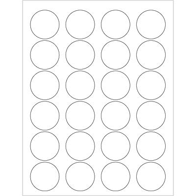 Tape Logic® Circle Laser Labels, 1 5/8