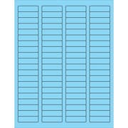 "Tape Logic® Rectangle Laser Labels, 1 3/4"" x 1/2"", Pastel Blue, 8000/Case (LL170BE)"