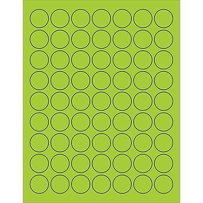 Tape Logic® Circle Laser Labels, 1