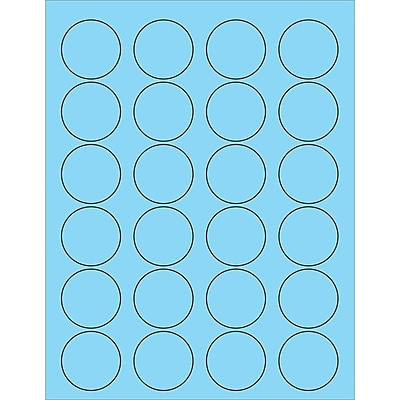 Tape Logic® Circle Laser Labels, 1 5/8