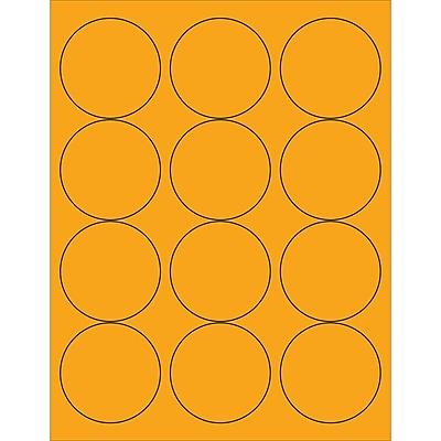 Tape Logic® Circle Laser Labels, 2 1/2