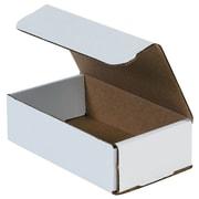 "Partners Brand Corrugated Mailers, 18"" x 12"" x 4"" White, 50/Bundle (M18124)"