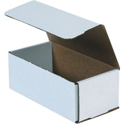 "Partners Brand Corrugated Mailers, 12"" x 9"" x 4"", White, 50/Bundle (MLR1294)"