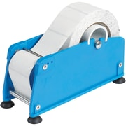 "Tape Logic® Mailing Label Dispenser, 2"", Blue, 1/Each (MLD200)"