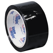 "Tape Logic Carton Sealing Tape, 2"" x 55 yds., Black, 18/Case (T90122BK18PK)"