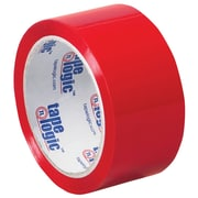 "Tape Logic Carton Sealing Tape, 2"" x 55 yds., Red, 18/Case (T90122R18PK)"