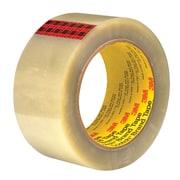 "3M™ Scotch  351 Carton Sealing Tape, 2"" x 55 yds., Clear, 36/Case (72318-6)"