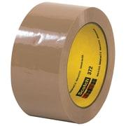 """3M™ Scotch  372 Carton Sealing Tape, 2"""" x 55 yds., Tan, 6/Case (T901372T6PK)"""