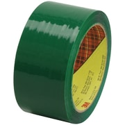 "3M™ Scotch  373 Carton Sealing Tape, 2"" x 55 yds., Green, 6/Case (T901373G6PK)"