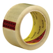 "3M™ Scotch  3743 Carton Sealing Tape, 2"" x 55 yds., Clear, 36/Case (72421-3)"