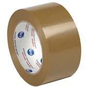 "Tape Logic PVC Natural Rubber Tape, 2.2 Mil, 2"" x 55 yds., Tan, 6/Case (T901530T6PK)"