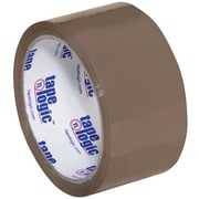 "Tape Logic #600 Hot Melt Tape, 2"" x 55 yds., Tan, 6/Case (T901600T6PK)"