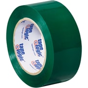 "Tape Logic Carton Sealing Tape, 2"" x 110 yds., Green, 18/Case (T90222G18PK)"