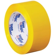 "Tape Logic Carton Sealing Tape, 2"" x 110 yds., Yellow, 18/Case (T90222Y18PK)"