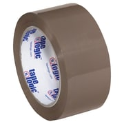 "Tape Logic #600 Hot Melt Tape, 2"" x 110 yds., Tan, 6/Case (T902600T6PK)"