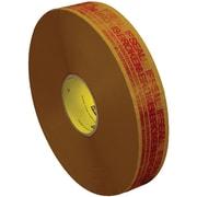 "3M™ Scotch  3732 Pre-Printed Carton Sealing Tape, 2"" x 1000 yds., Tan/Red, 6/Case (72416-9)"