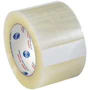 "Partners Brand ""Whisper Smooth"" Acrylic Carton Sealing Tape, 3"" x 125 yds., Clear, 6/Case (T9051306PK)"