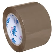 "Tape Logic Acrylic Tape, 2 Mil, 3"" x 110 yds., Tan, 24/Case (T905400T)"