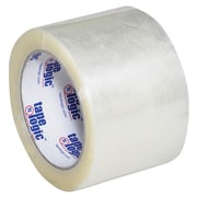 "Tape Logic #600 Hot Melt Tape, 3"" x 110 yds., Clear, 6/Case (T9056006PK)"
