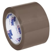 "Tape Logic #600 Hot Melt Tape, 3"" x 110 yds., Tan, 6/Case (T905600T6PK)"