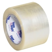 "Tape Logic #700 Hot Melt Tape, 3"" x 110 yds., Clear, 6/Case (T9057006PK)"