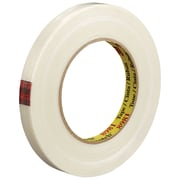 "3M™ Scotch  8981 Strapping Tape, 1/2"" x 60 yds., Clear, 72/Case (88189-3)"