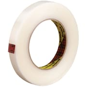 """3M™ Scotch  865 Strapping Tape, 3/4"""" x 60 yds., Clear, 12/Case (T91486512PK)"""