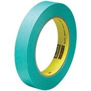 "3M™ Scotch  2480S Masking Tape, 3/4"" x 60 yds., Green, 48/Case (07546-3)"