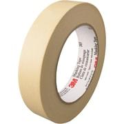 """3M™ 203 Masking Tape, 1"""" x 60 yds., Natural, 12/Case (T93520312PK)"""