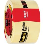 "3M™ Scotch  2050 Masking Tape, 3"" x 60 yds., Natural, 12/Case (05621-5)"
