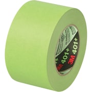 "3M™ 401+/233+ Masking Tape, 3"" x 60 yds., Green, 8/Case (64764-2)"