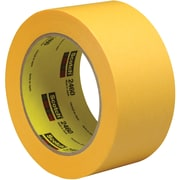 "3M™ Scotch  2460 Flatback Tape, 2"" x 60 yds., Gold, 24/Case (91930-9)"