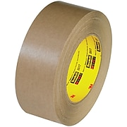 "3M 2517 Flatback Tape, 6.5 Mil, 2"" x 60 yds., Kraft, 12/Case (T947251712PK)"