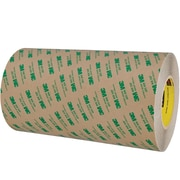 """3M™ 468MP Adhesive Transfer Tape, Hand Rolls, 12"""" x 60 yds., Clear, 4/Case (18880-0)"""