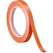 "3M™ 471 Vinyl Tape, 1/4"" x 36 yds., Orange, 144/Case (05826-4)"