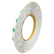 "3M™ 9082 Adhesive Transfer Tape, Hand Rolls, 1/4"" x 60 yds., Clear, 36/Case (58149-1)"