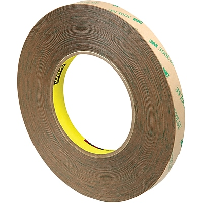 3M™ Scotch 9472LE Adhesive Transfer Tape, Hand Rolls, 1/2