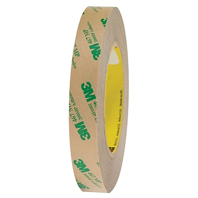 3M™ 467MP Adhesive Transfer Tape, Hand Rolls, 3/4