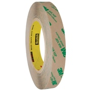 "3M™ 468MP Adhesive Transfer Tape, Hand Rolls, 3/4"" x 60 yds., Clear, 6/Case (T9644686PK)"
